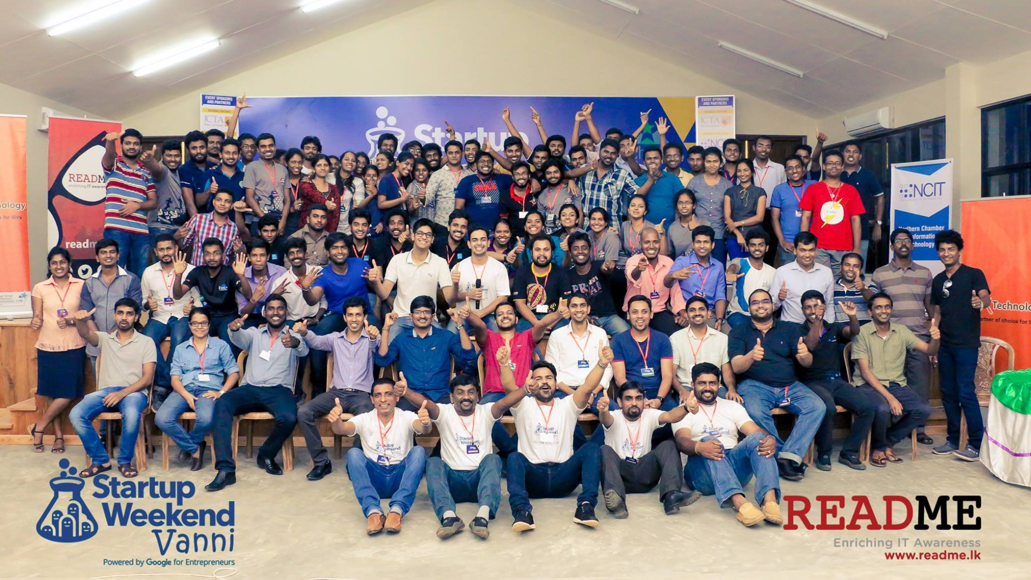 Startup Weekend Vanni was Successfull end for Startup Weekend Journey in 2016