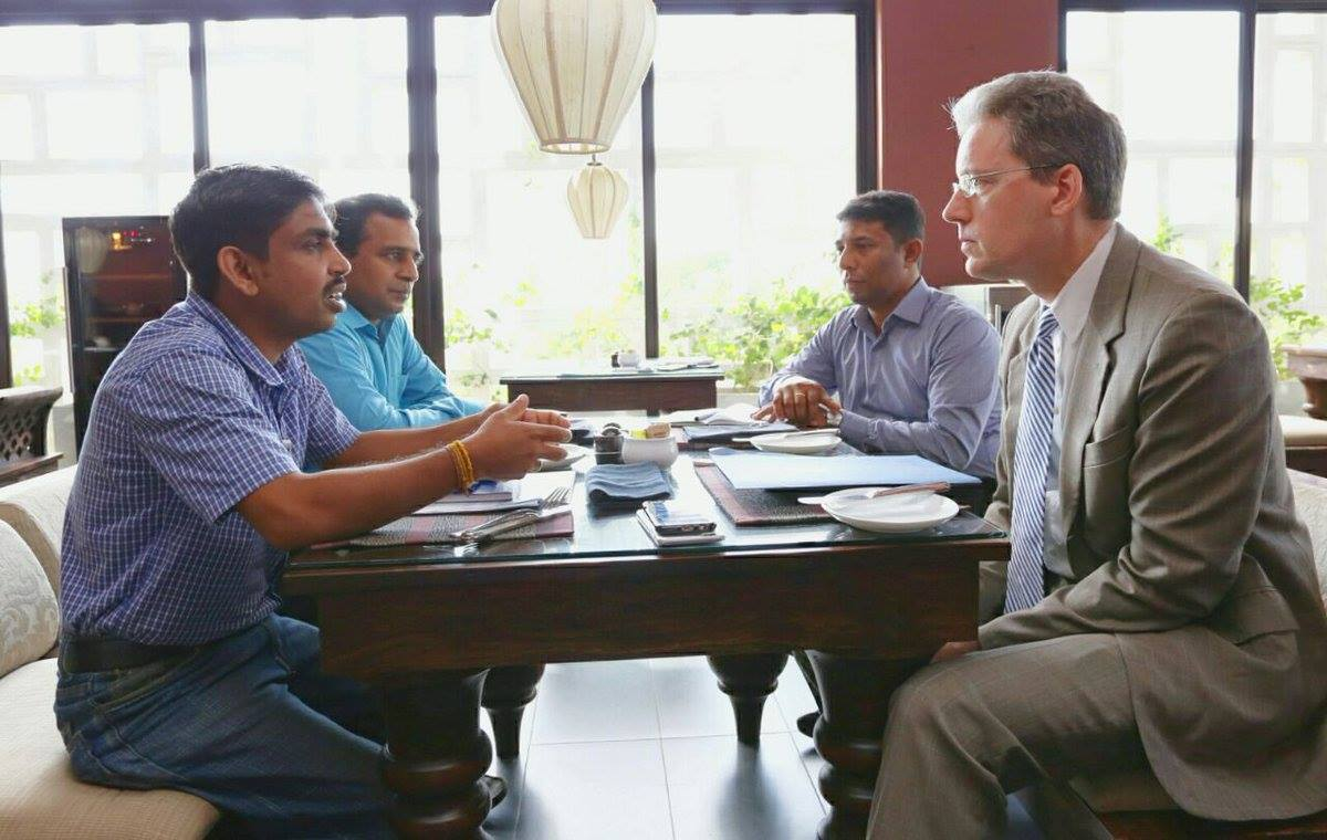 Meeting With Deputy Chief of Mission Robert B. Hilton