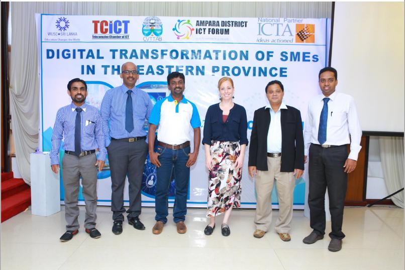 Digital Transformation Workshop and Exhibition in Batticaloa