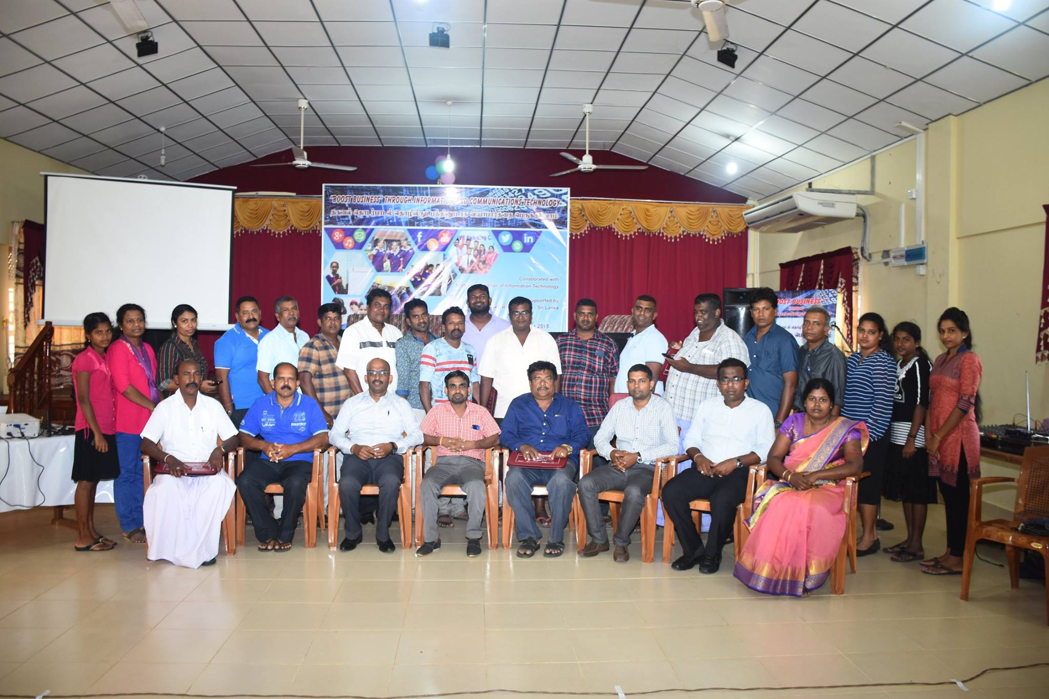 Boost Your Business through ICT Event in Kilinochchi and Mullaitivu