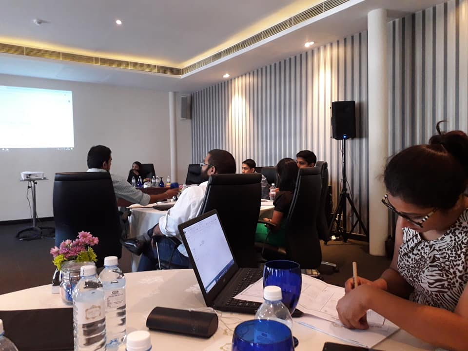 Presentation of ITC's report on the Sri Lankan Entrepreneurship Support Ecosystem