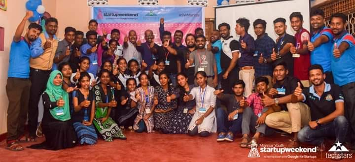 First ever Startup Weekend Mannar Came to end