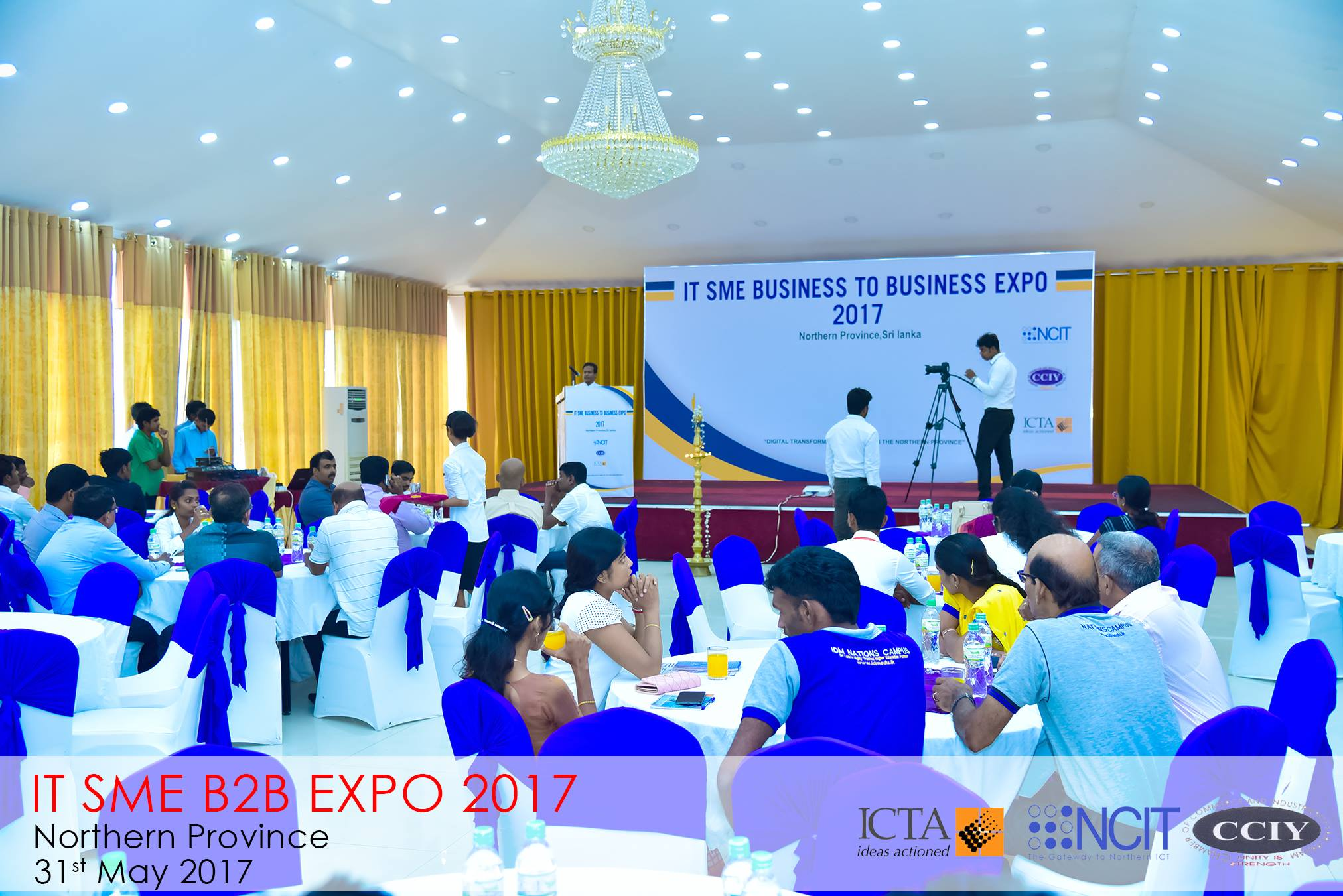 Northern IT SME Business to Business Expo 2017  Organized in grant scale for SMEs in Northern Province