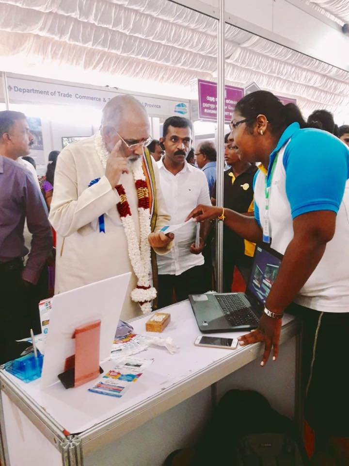 "The World Tourism Day Exhibition 2018 was held in Jaffna with the theme of  ""drive digital tourism"""