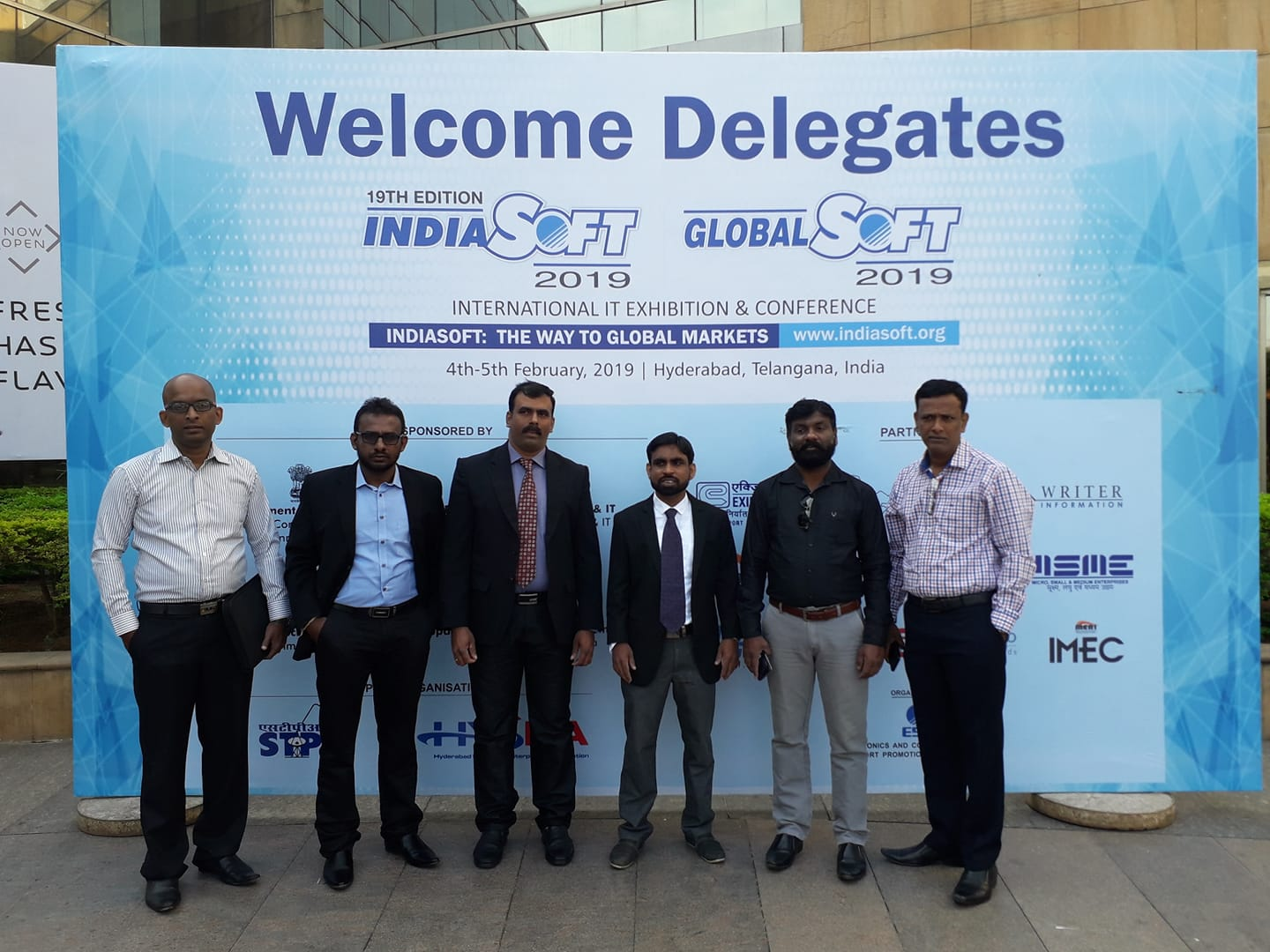 NCIT members Participated in  INDIASOFT 2019 ,Hyderabad